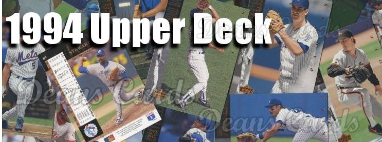 1994 Upper Deck Baseball Cards