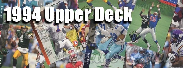 1994 Upper Deck Football Cards