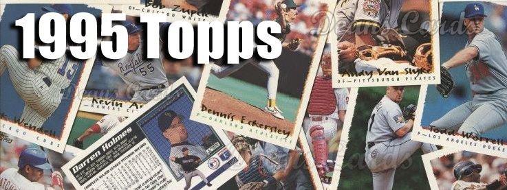 1995 Topps Baseball Cards