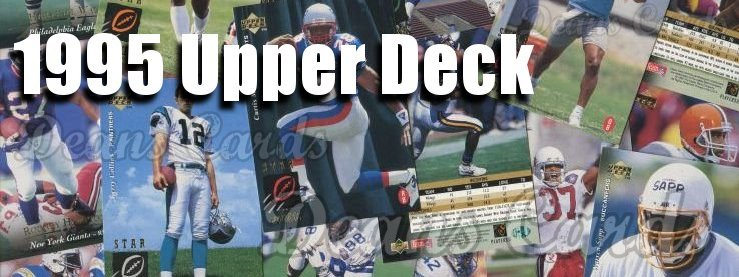 1995 Upper Deck Football Cards
