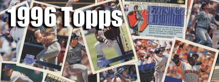 1996 Topps Baseball Cards