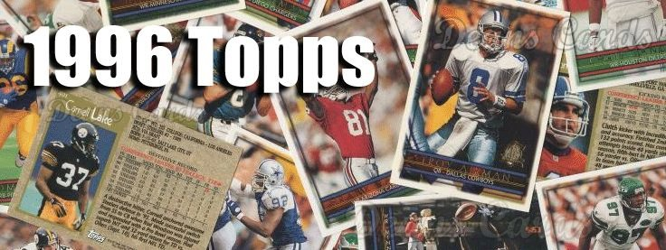 1996 Topps Football Cards