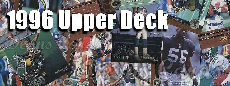 1996 Upper Deck Football Cards
