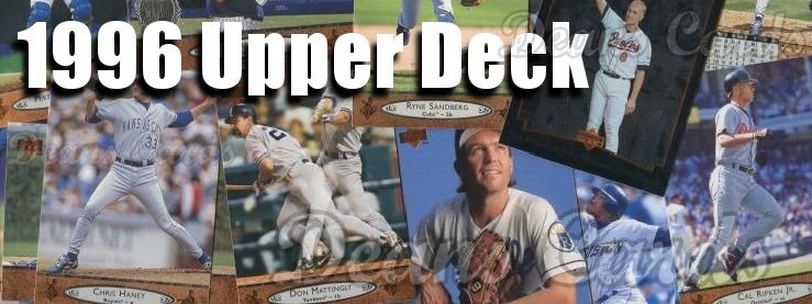 1996 Upper Deck Baseball Cards
