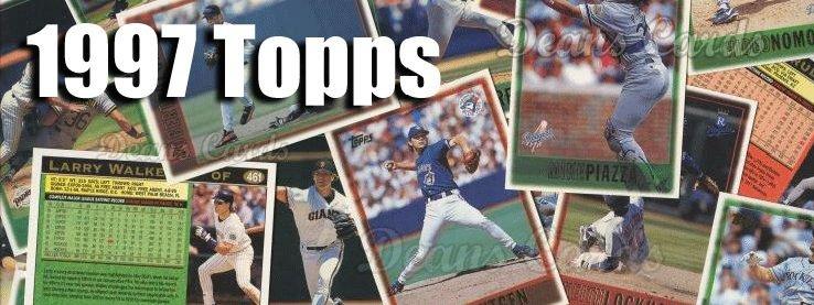 1997 Topps Baseball Cards