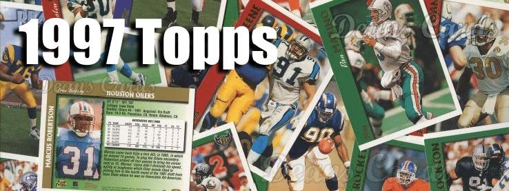 1997 Topps Football Cards