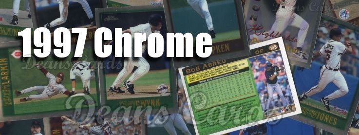 1997 Topps Chrome Baseball Cards