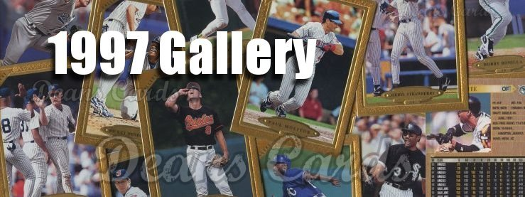 1997 Topps Gallery Baseball Cards