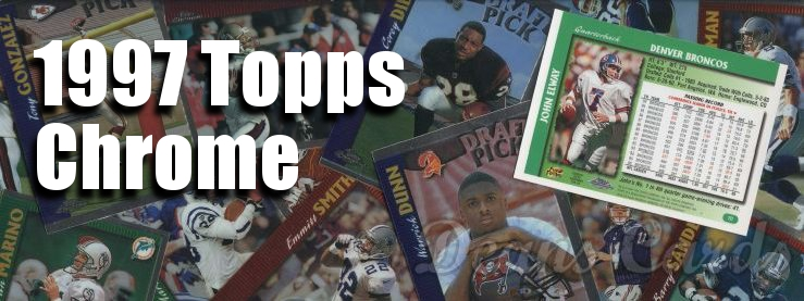 1997 Topps Chrome Football Cards