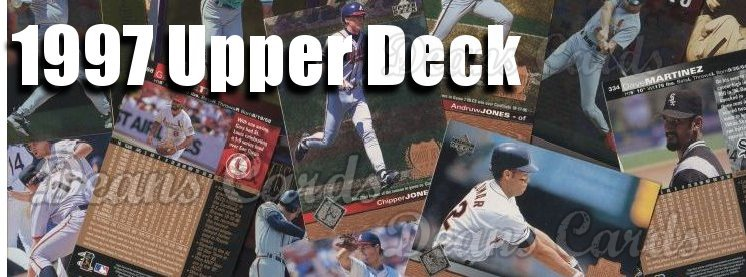 Buy 1997 Upper Deck Baseball Cards Sell 1997 Upper Deck Baseball