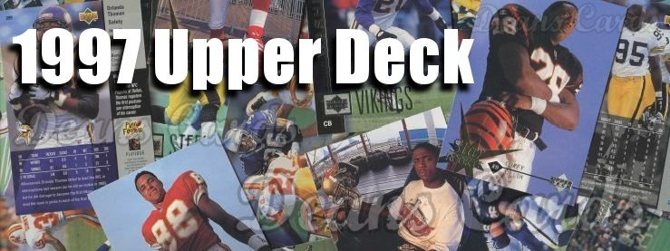 1997 Upper Deck Football Cards