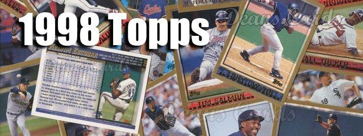 1998 Topps Baseball Cards
