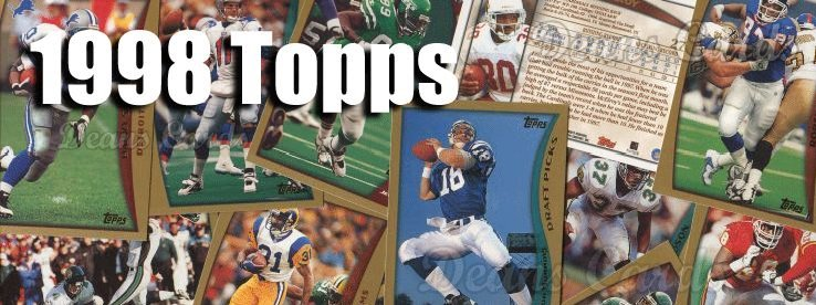 1998 Topps Football Cards