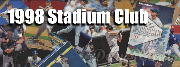 1998 Stadium Club Baseball Cards