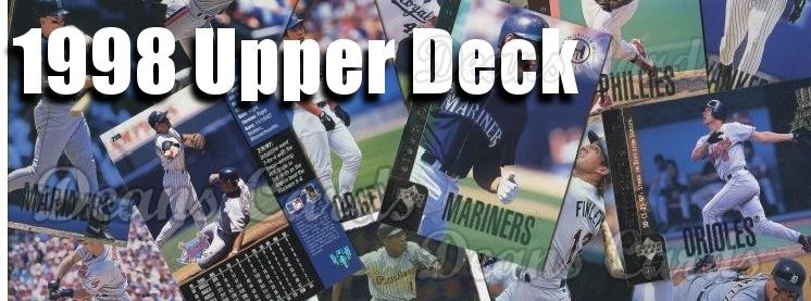 1998 Upper Deck Baseball Cards