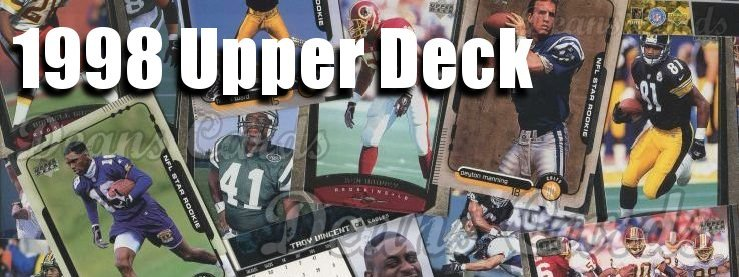 1998 Upper Deck Football Cards
