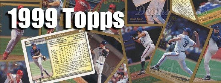 1999 Topps Baseball Cards
