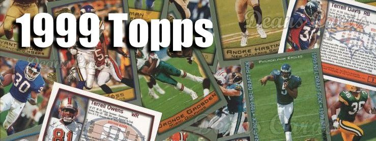 1999 Topps Football Cards