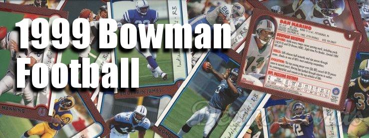 1999 Bowman Football Cards