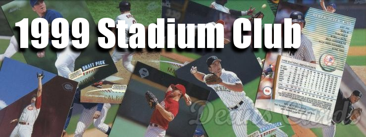 1999 Topps Stadium Club Baseball Cards