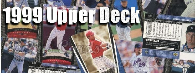 1999 Upper Deck Baseball Cards