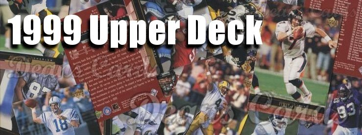 1999 Upper Deck Football Cards