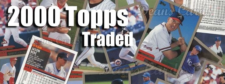 2000 Topps Traded Baseball Cards