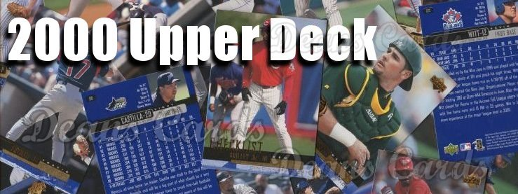 2000 Upper Deck Baseball Cards