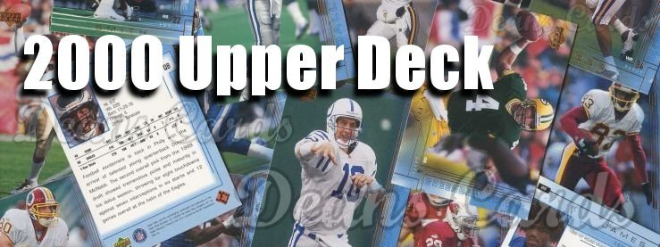 2000 Upper Deck Football Cards