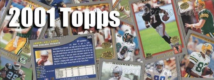 2001 Topps Football Cards
