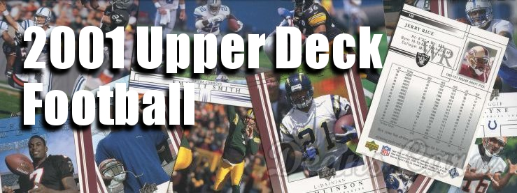 2001 Upper Deck Football Cards