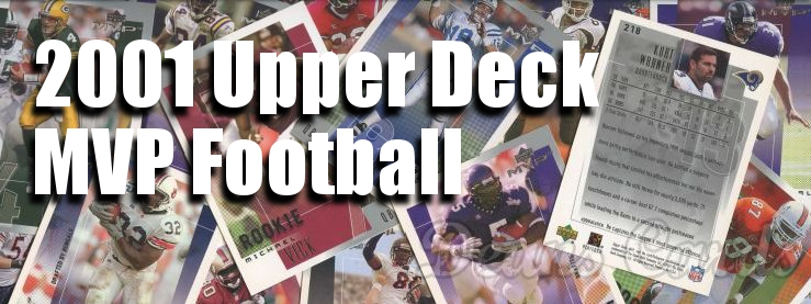 2001 Upper Deck MVP Football Cards