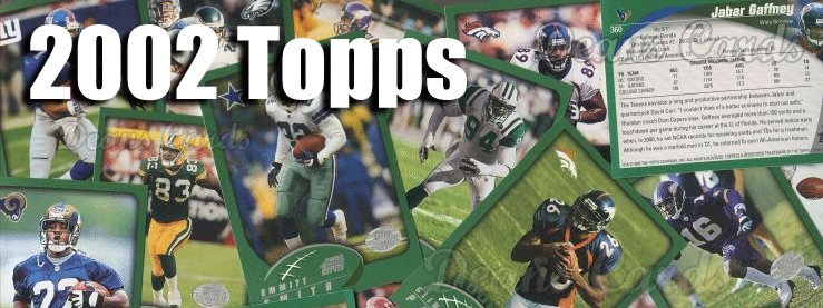 2002 Topps Football Cards