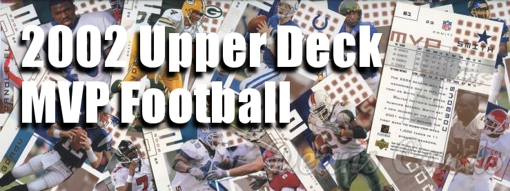 2002 Upper Deck MVP Football Cards
