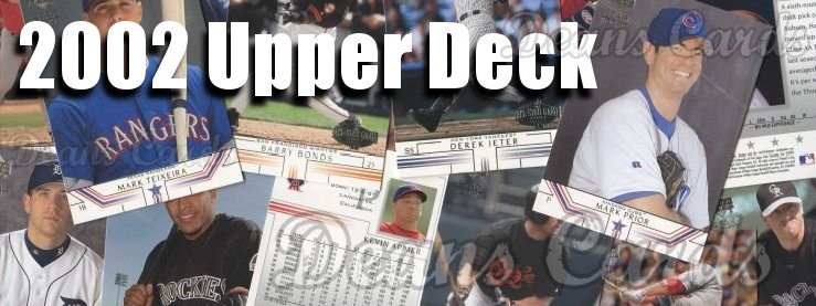 2002 Upper Deck Baseball Cards
