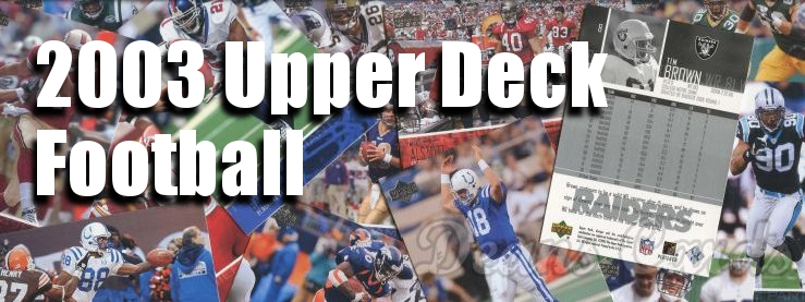 2003 Upper Deck Football Cards