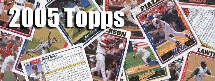 2005 Topps Baseball Cards