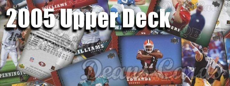 2005 Upper Deck Football Cards