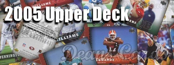 2005 Upper Deck Football Cards