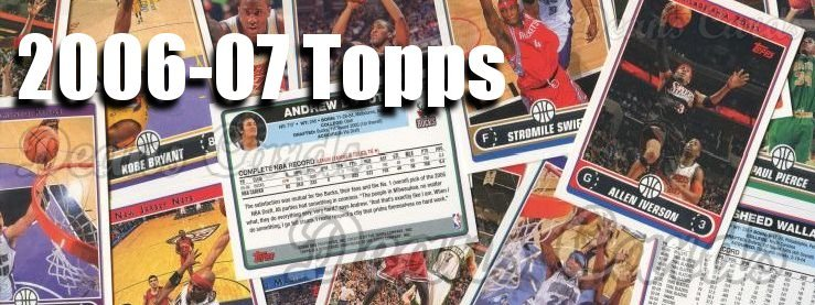 2006-07 Topps Basketball Cards