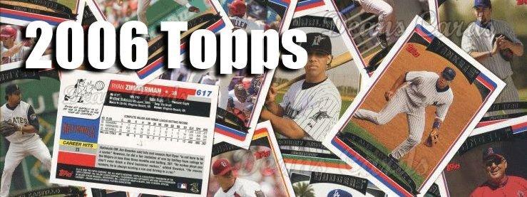 2006 Topps Baseball Cards