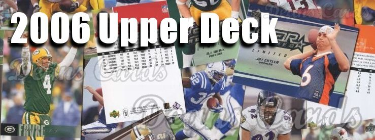 2006 Upper Deck Football Cards