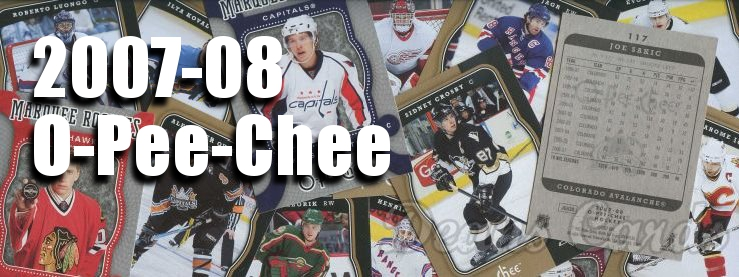 2007-08 O-Pee-Chee Hockey Cards
