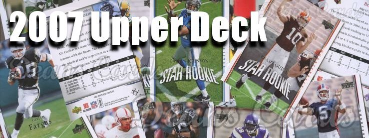 2007 Upper Deck Football Cards