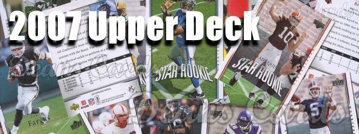 2007 Upper Deck Football Cards