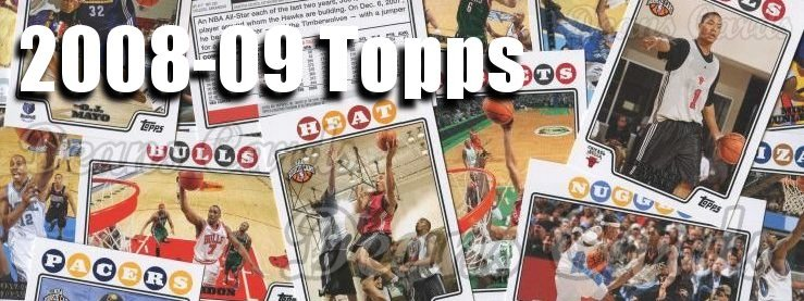 2008-09 Topps Basketball Cards