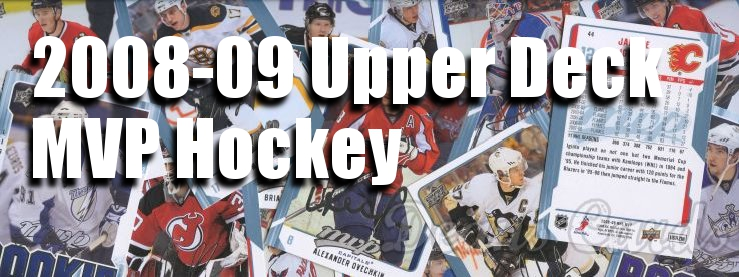 2008-09 Upper Deck MVP Hockey Cards