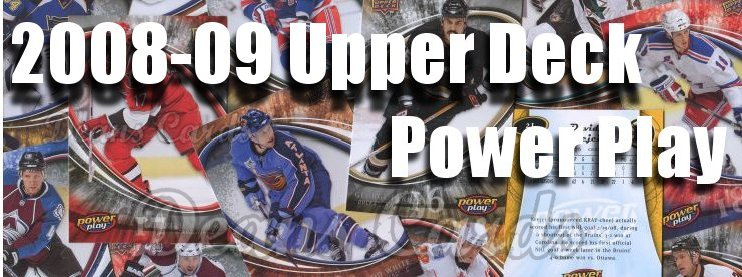2008-09 Upper Deck Power Play Hockey Cards