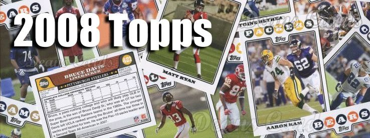 2008 Topps Football Cards