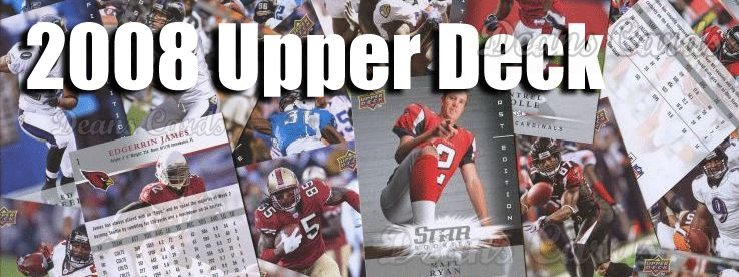 2008 UD Football First Edition Football Cards